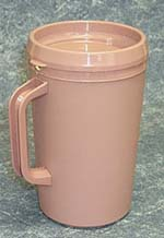 Mauve Beverage Pitcher with Cover