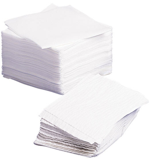 Dry Washcloths: Disposable Dry Washcloths By Medline