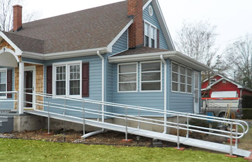 aluminum modular wheelchair ramp free shipping