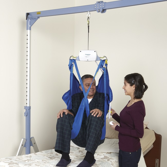 P 300 Portable Ceiling Patient Lift Free Shipping