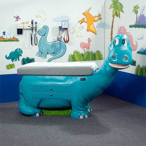 Dino Pediatric Exam Table Environment Pack