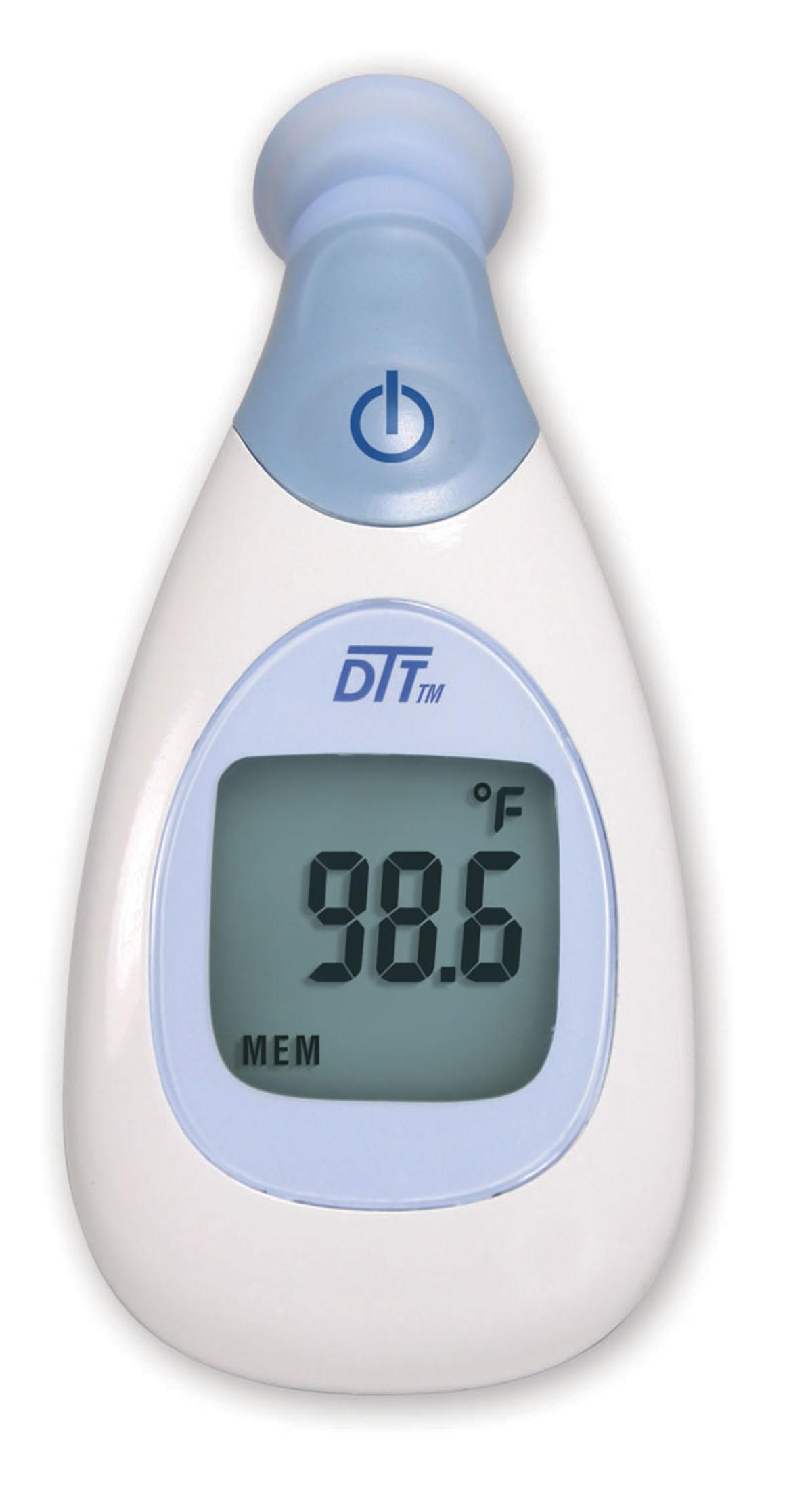 instant read digital temple thermometer by medline