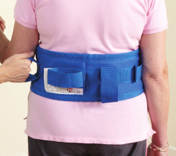 Ergosafe Soft Transfer Padded Gait Belts