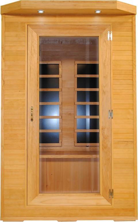 Far Infrared Hemlock Carbon Heated Sauna