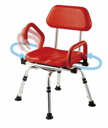 Revolver Swiveling Shower Chair FREE Shipping