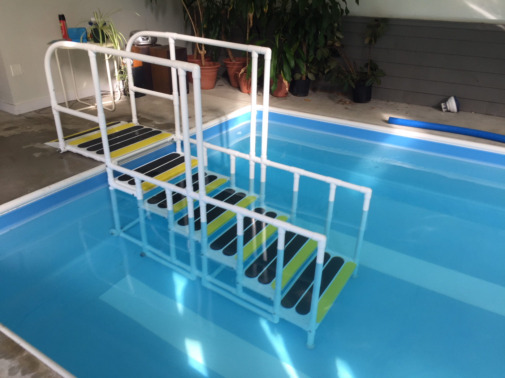 Aquatrek2 Non Slip Forward Walking Pool Ladder System