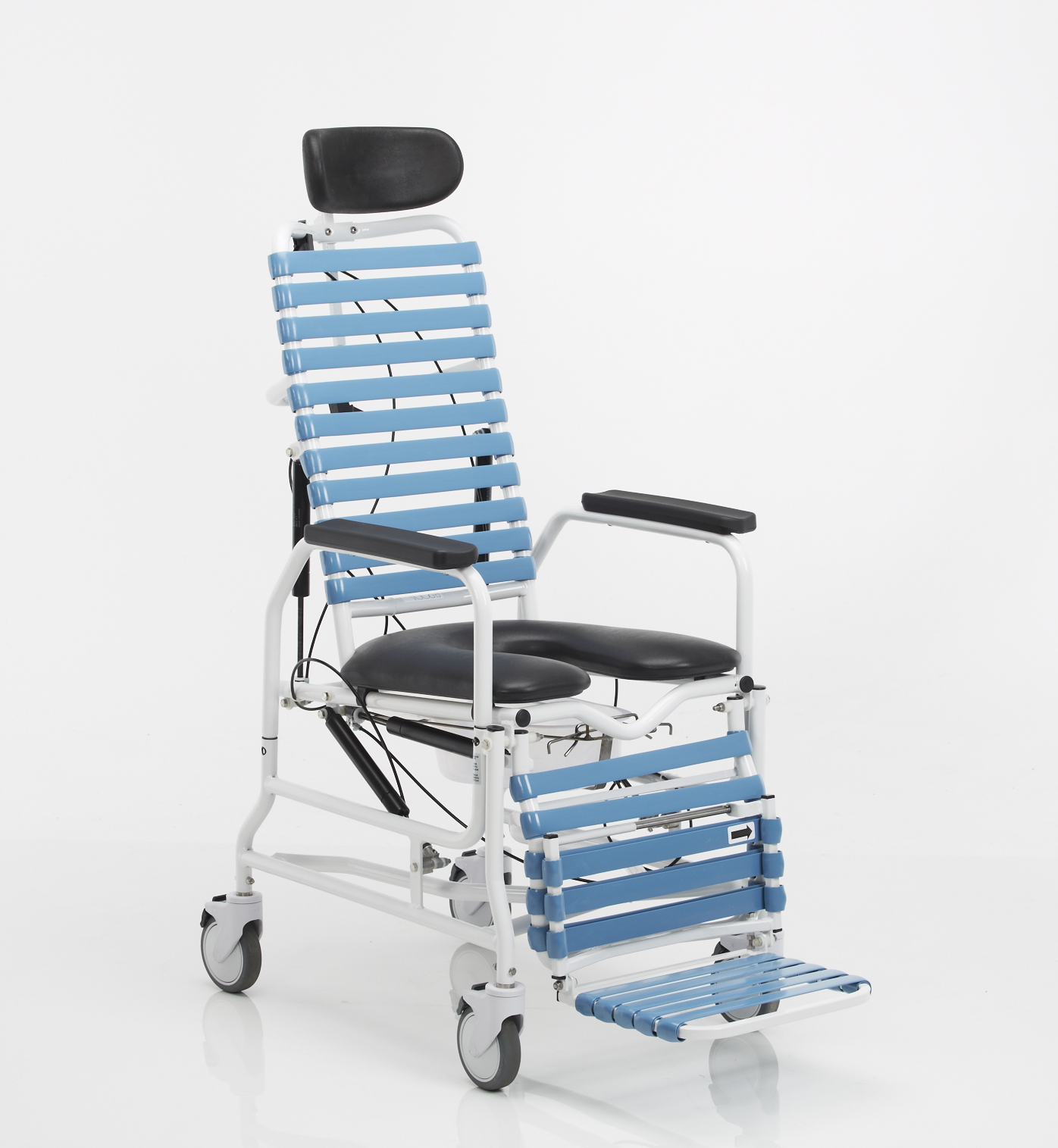 Broda Cs385 Revive Tilt And Recline Shower Commode Chair
