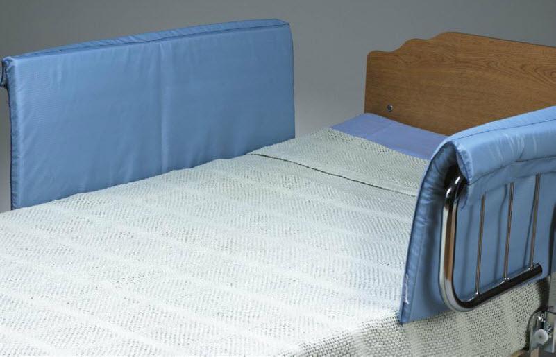 Skil Care Half Size Bed Rail Pads Pair