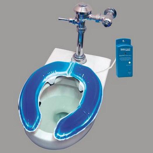 Skil Care Gel Foam Toilet Seat Cushion Alarm System