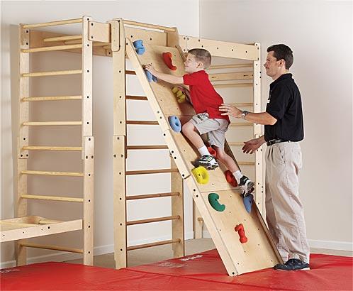 Sammons Preston Climbing Wall And Indoor Activity Fun Gym
