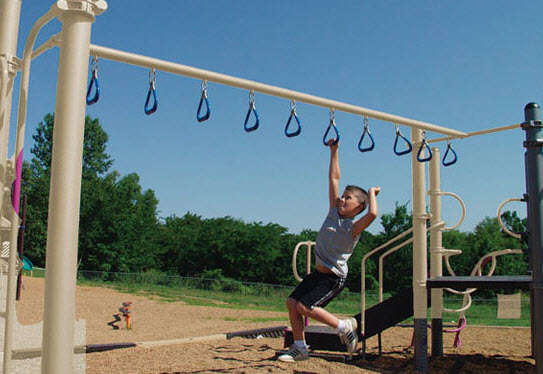 Climbing Rings Playground Equipment