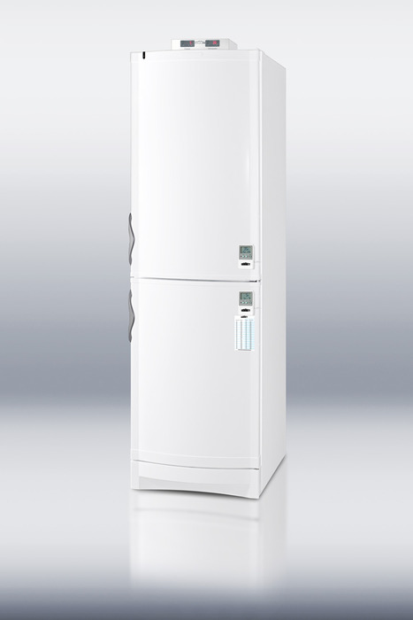 Accucold Full Size Medical Refrigerator With Freezer