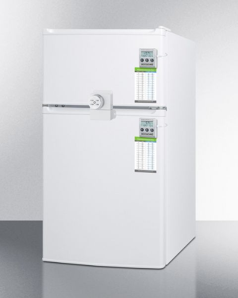 Accucold Medical Refrigerator And Freezer With Combination