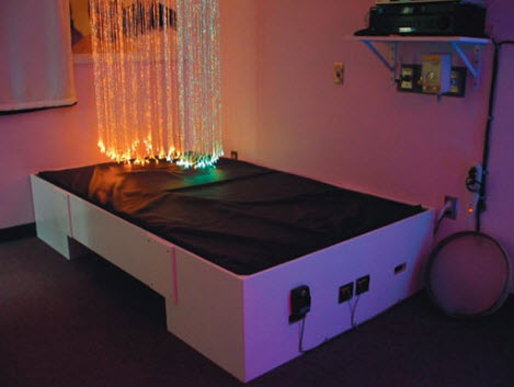 Musical Waterbed For Vibroacoustic Therapy