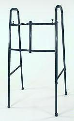 Extra Tall Adult Double Button Folding Walker