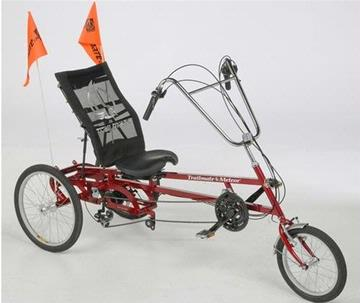 Meteor 3 Wheel Recumbent Tricycles Free Shipping