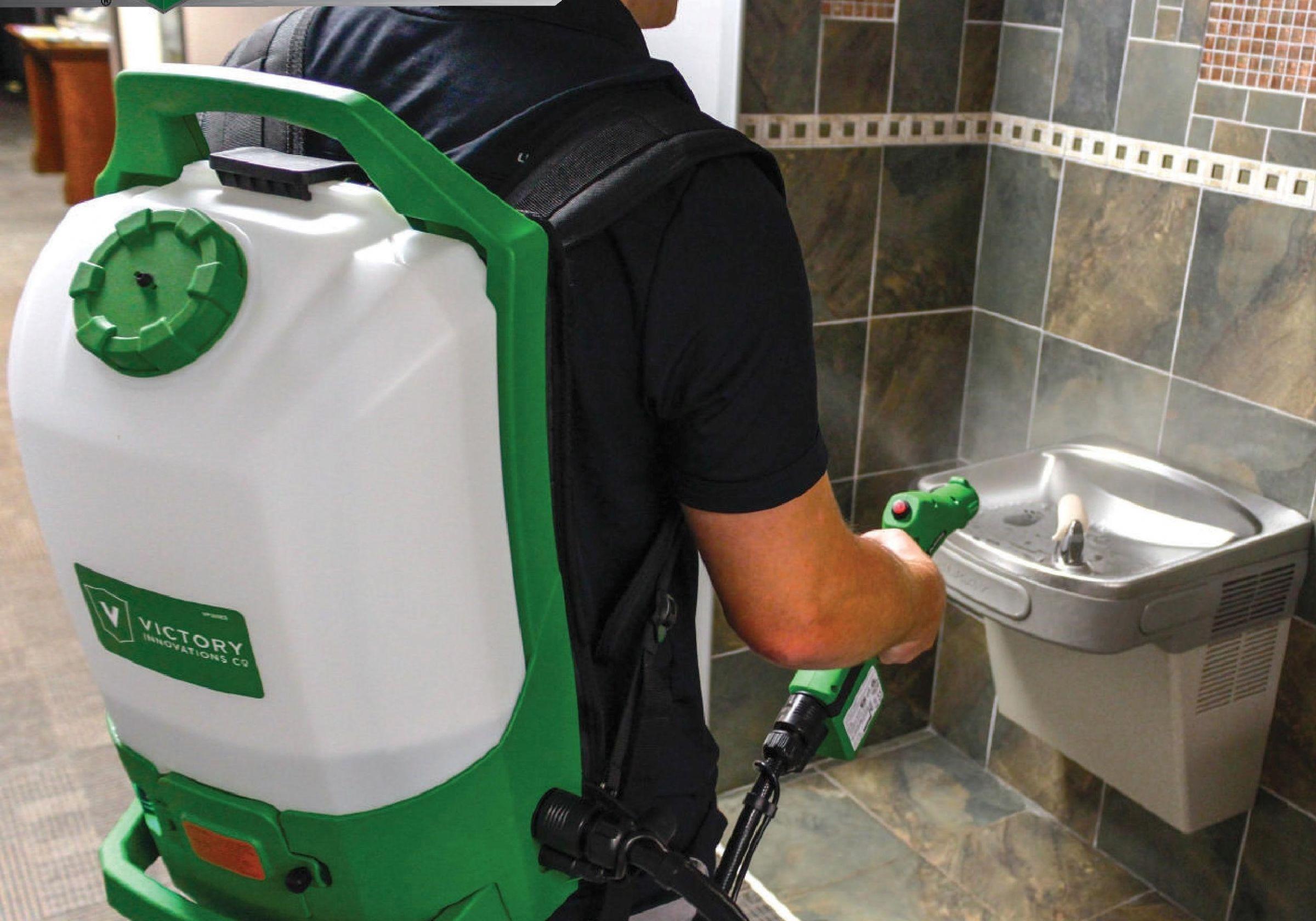 Professional Cordless Electrostatic Sprayer - Handheld and