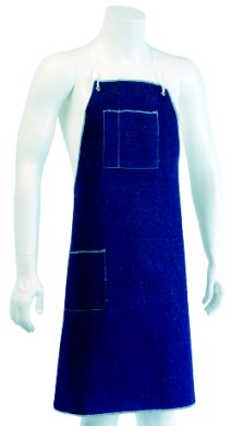 Heavy Blue Denim Apron : Denim Aprons and Sleeves