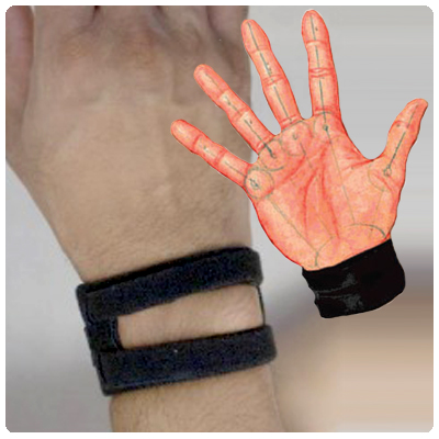 Wristwidget Pain Reliever Band