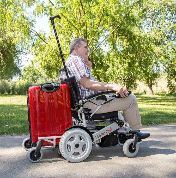 Freedom Chair Portable Folding Electric Wheelchair