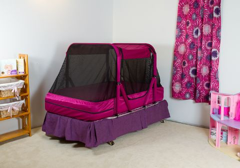 Safety sleeper full bed enclosure packages for kids - Enclosed beds for adults ...