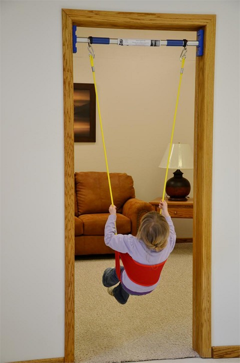 Cradle Back Swing Attachment For Rainy Day Indoor Swing Kit