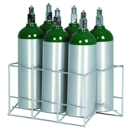 Oxygen Cylinder Racks by Responsive Respiratory