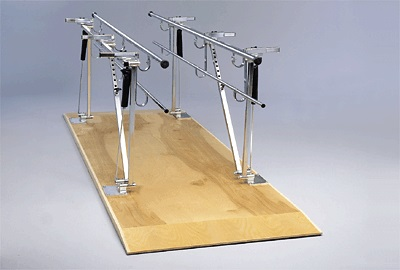 Model 565 single operator floor mounted parallel bars for Floor operator
