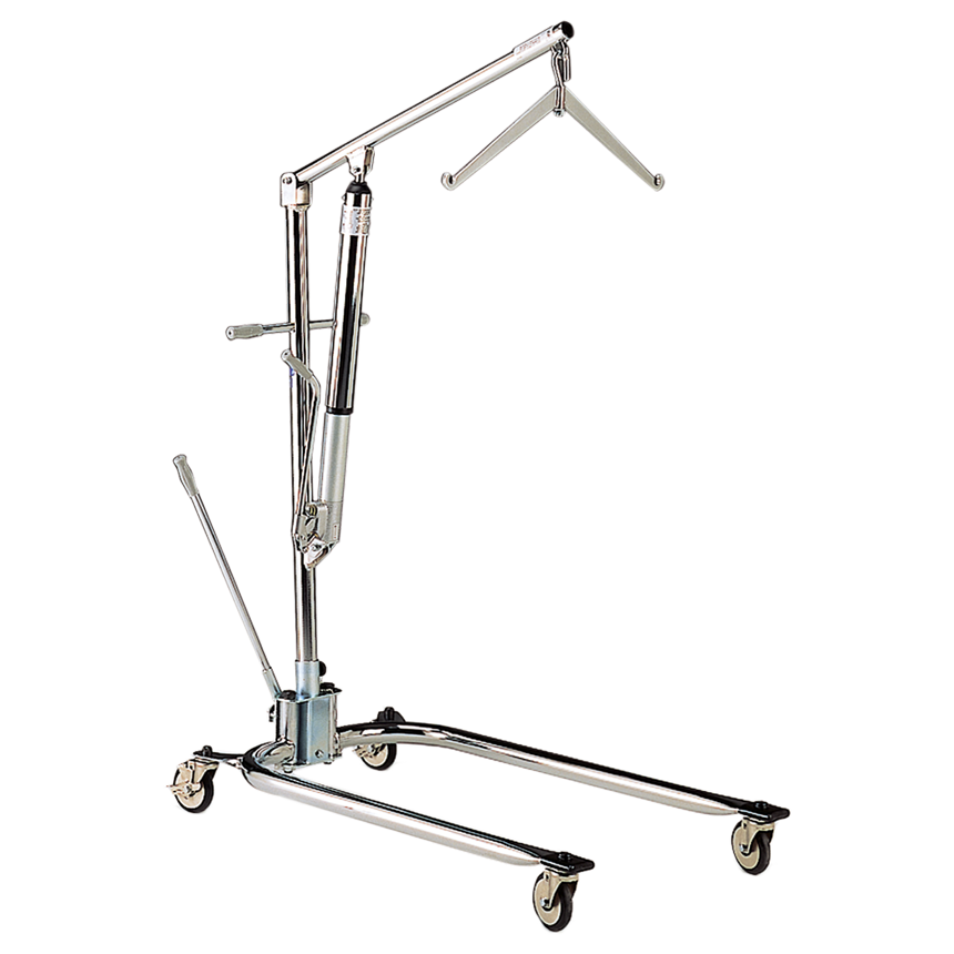 Hoyer Legacy Chrome Plated Hydraulic Manual Lift