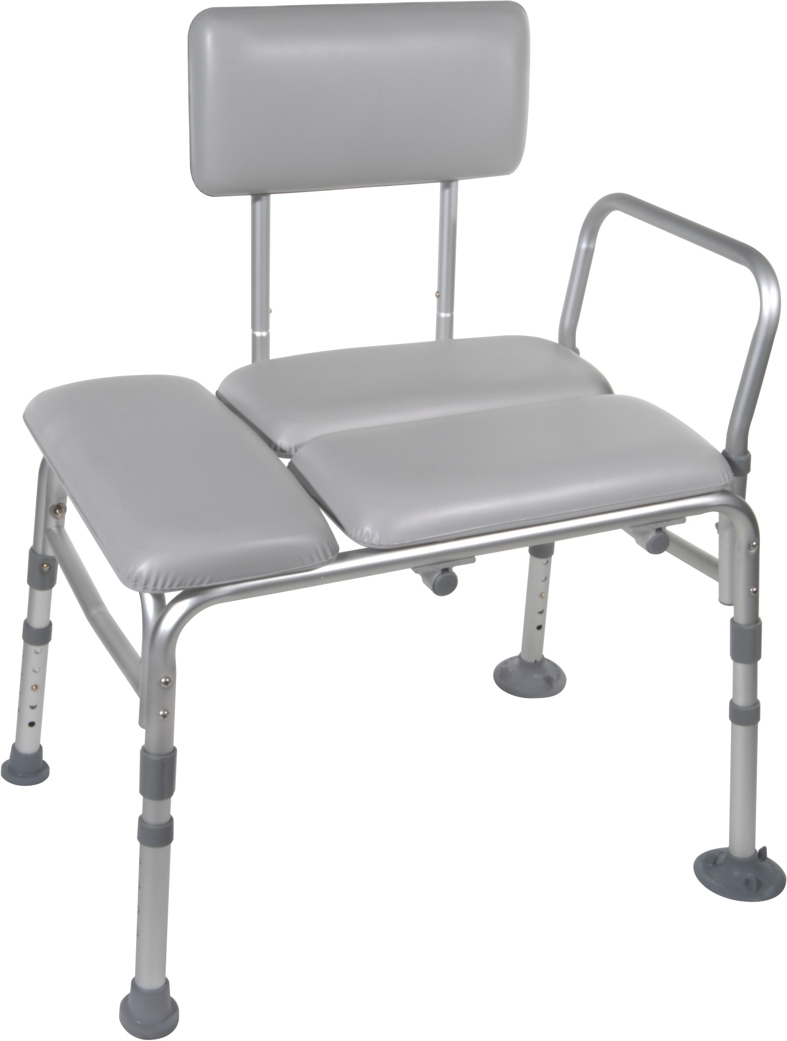 Drive Medical Adjustable Bath Transfer Bench Padded