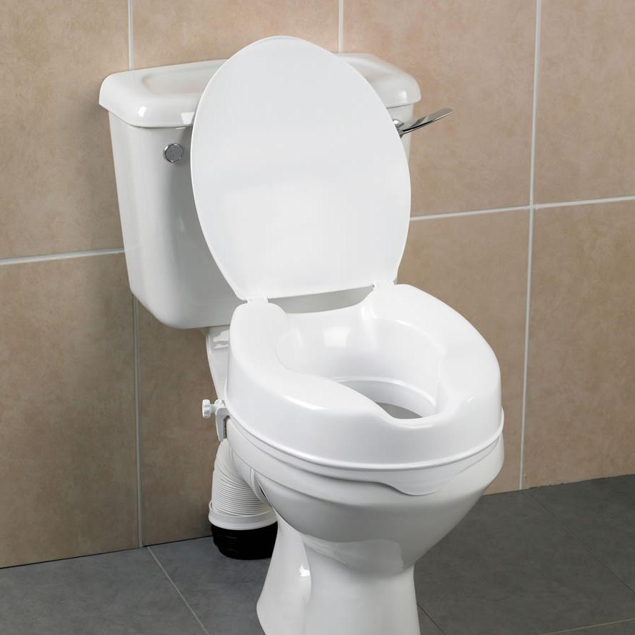 Remarkable Savanah Raised Toilet Seat With Lid Spiritservingveterans Wood Chair Design Ideas Spiritservingveteransorg
