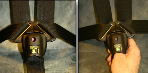 Safety Buckle Guard Standard Buckle Guard