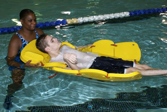 Pediatric Aquatic Therapy Sectional Raft