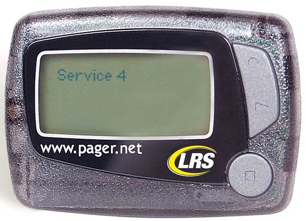 Medical Alert Reviews >> LRS RX-E467 Pager for the Hearing Impaired