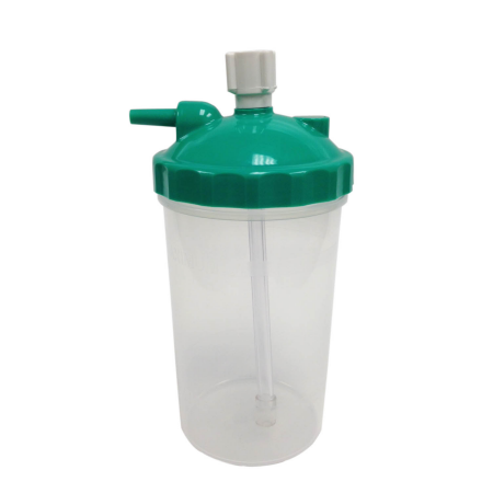 Disposable Dry Bubble Humidifier Bottle For Oxygen Therapy