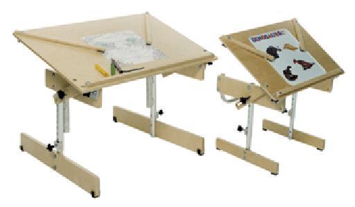 Kaye Wooden Adjustable Tilting Tables Free Shipping