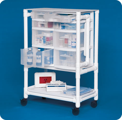 Mobile Storage Nursing Supply Cart Free Shipping