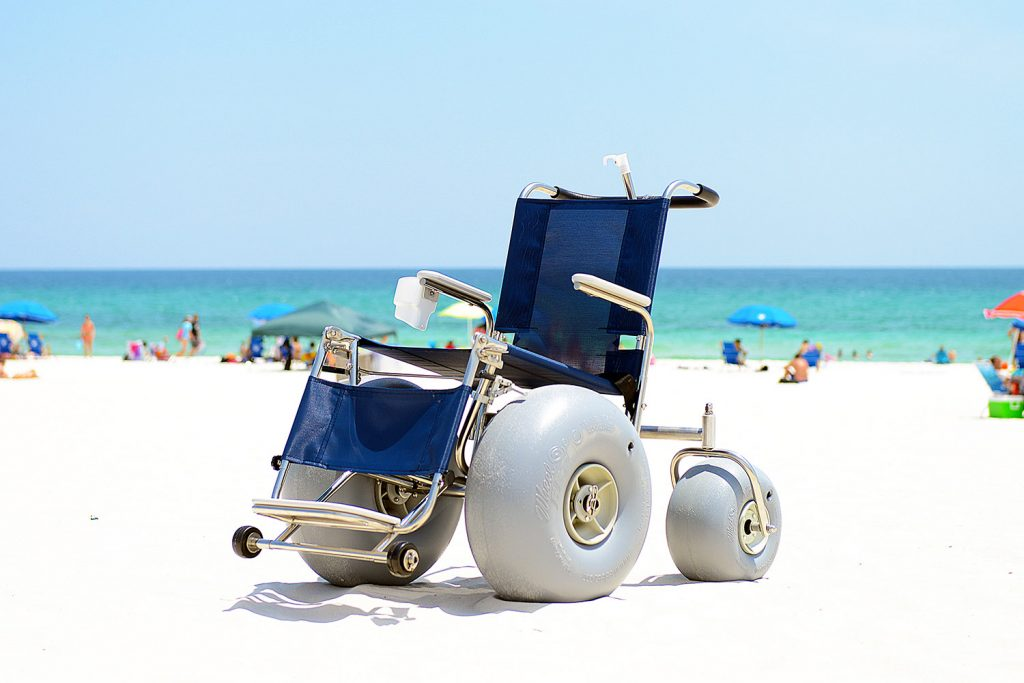 Debug Beach Wheelchair Ada Compliant