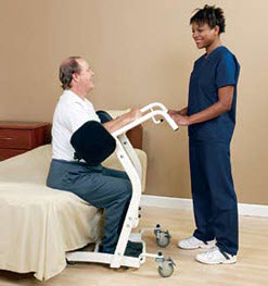 Sa 400 Sit To Stand Patient Lift Free Shipping