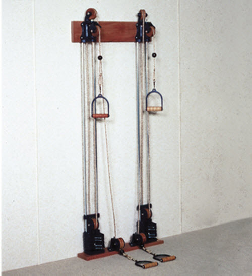 Chest Weight Pulley Exercise System Free Shipping