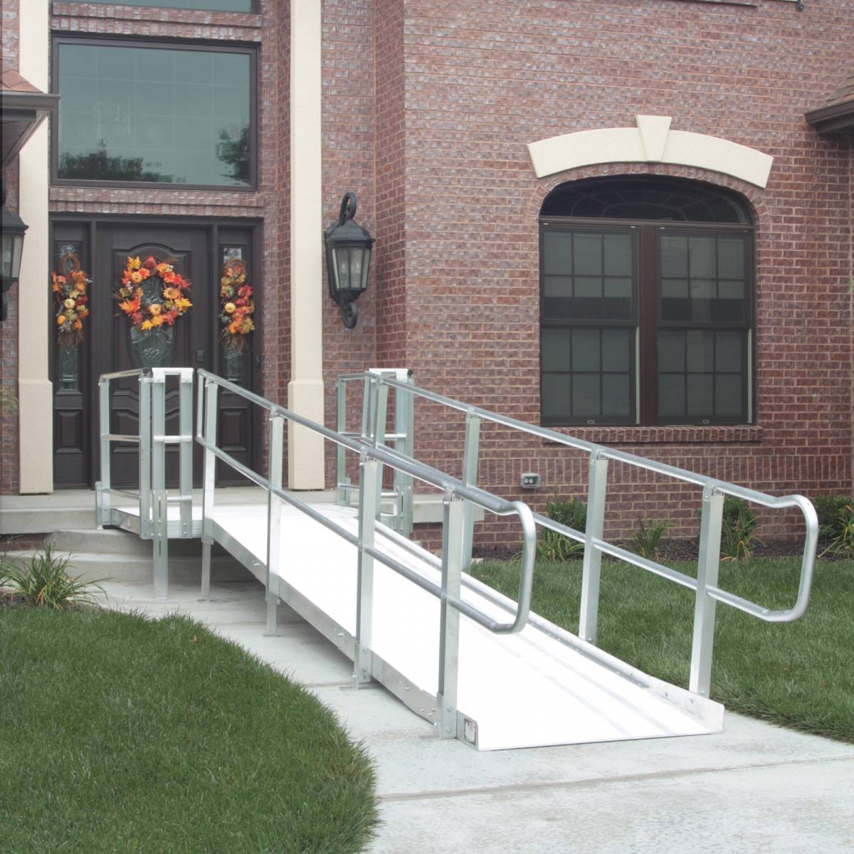 Pvi modular xp ramp systems free shipping for Prefab wheelchair ramp