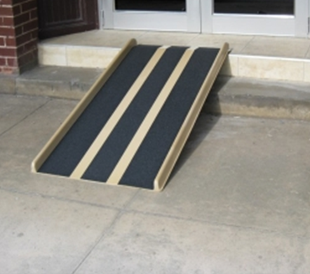 Portable Fiberglass Wheelchair Ramp Free Shipping