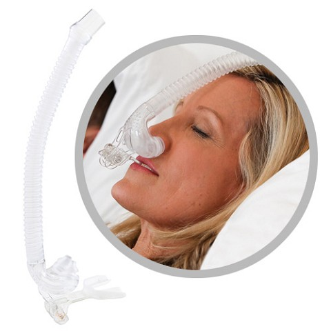 Tap Pap Nasal Pillow Mask With Mouthpiece