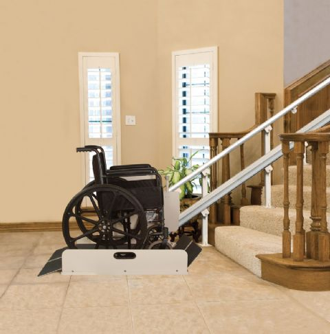 Sierra Inclined Stair Platform Lift Free Shipping