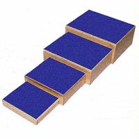 Nesting Stools Physical Therapy Equipment Wooden Step