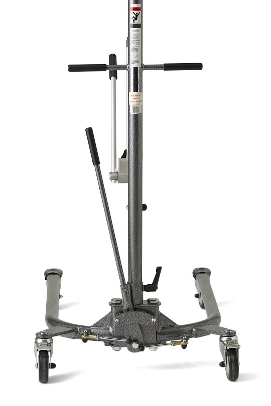 Medline Manual Hydraulic Patient Lift with Adjustable Base