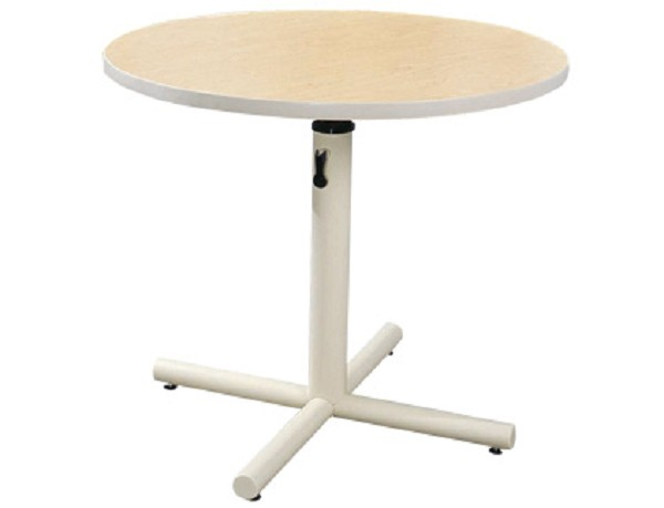 Height Adjustable Floating Pedestal Therapy Table
