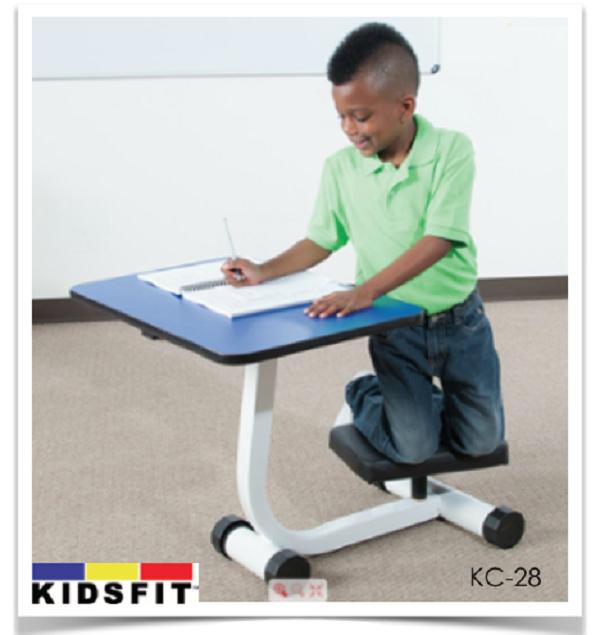Fabulous Kidsfit Kinesthetic Classroom Kneel N Spin Desk Andrewgaddart Wooden Chair Designs For Living Room Andrewgaddartcom