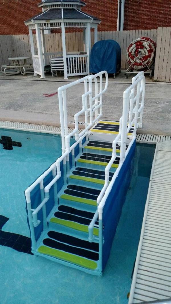 Aquatrek2 Ada Compliant Forward Walking Pool Ladder Pool