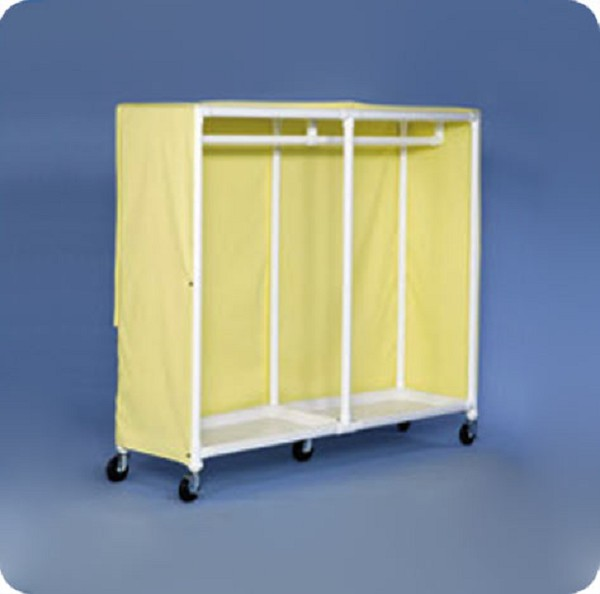 Rolling Garment Rack With Hanging Bar Free Shipping